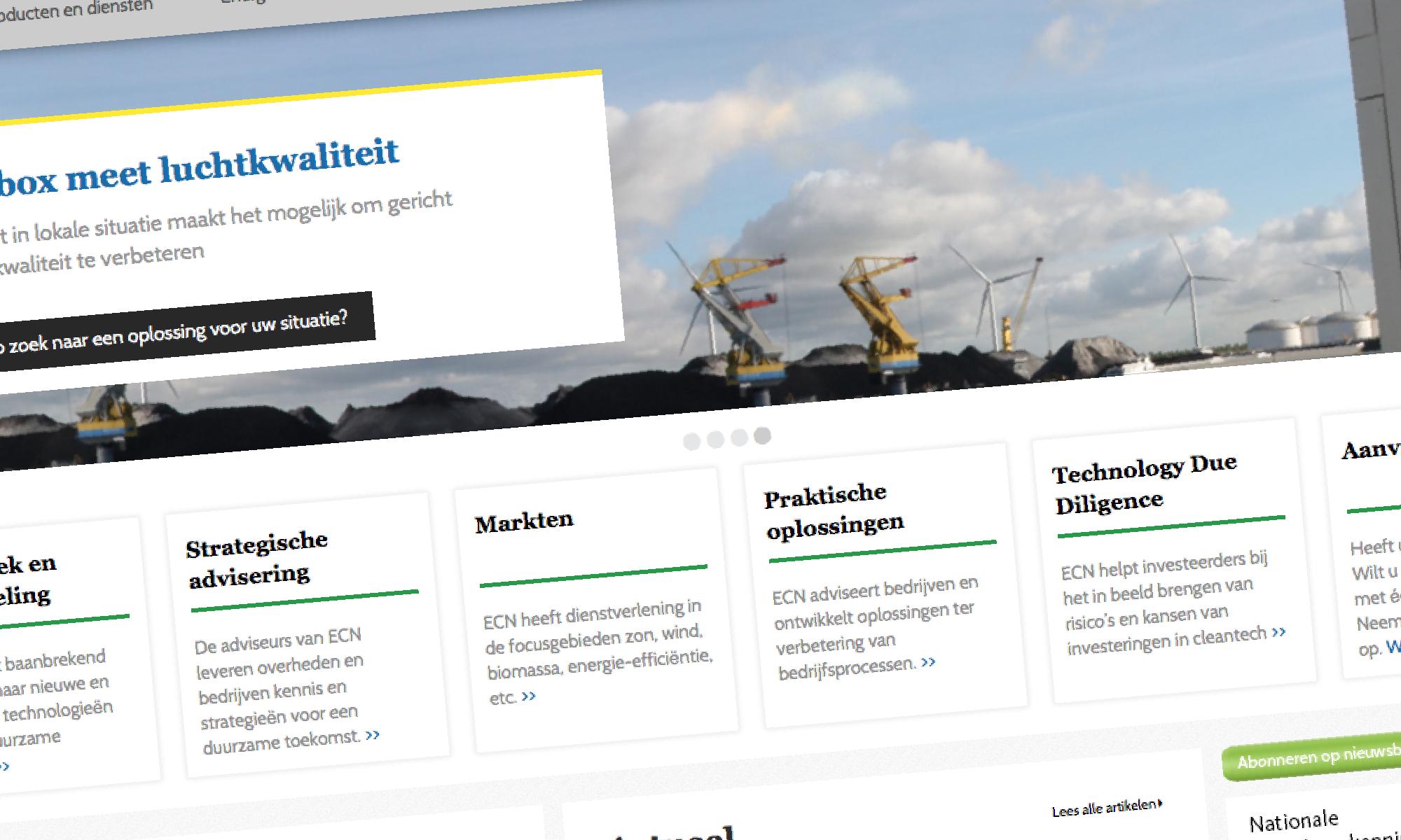 Website portfolio onderzoek