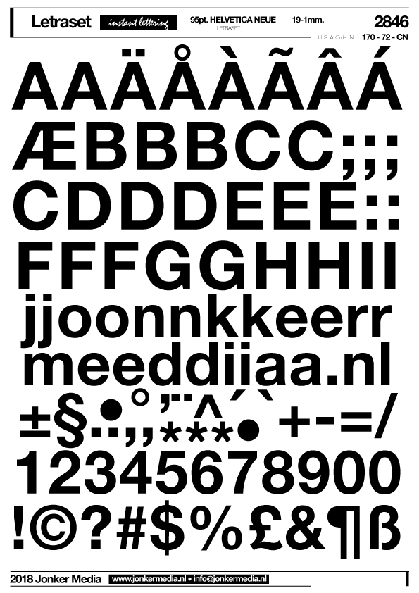 Letraset Jonker Media Design